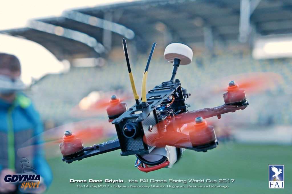 drone race gdynia